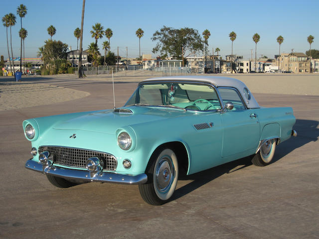 Over $10,000 in recent improvements,1955 Ford Thunderbird  Chassis no. P5FH123228