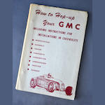 """How to Hop Up Your GMC"" booklet"