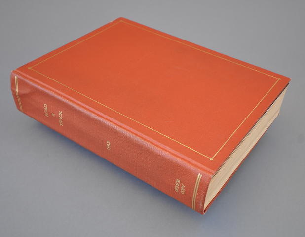 1968 Road & Track bound volume
