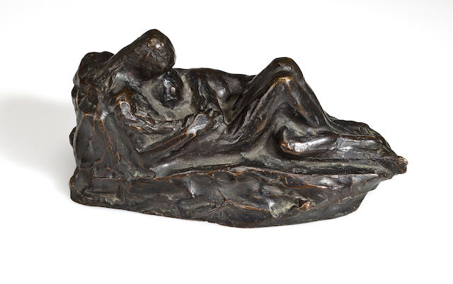 Gaston Lachaise (French/American, 1882-1935) Dans la nuit height 4 3/4in