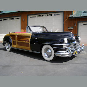 1947 Chrysler Town & Country  Chassis no. C3937634