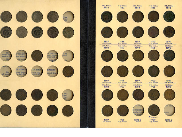 """Flying Eagle and Indian Head Cents 1856-1909 """"Library of Coins"""" Volume One"""