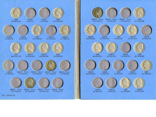 Jefferson Nickel Collections