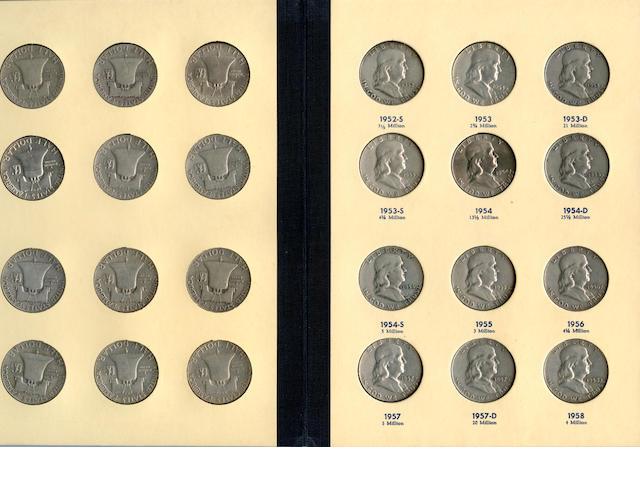 "Franklin Half Dollars 1948-1963 ""Library of Coins"" Vol. 21"