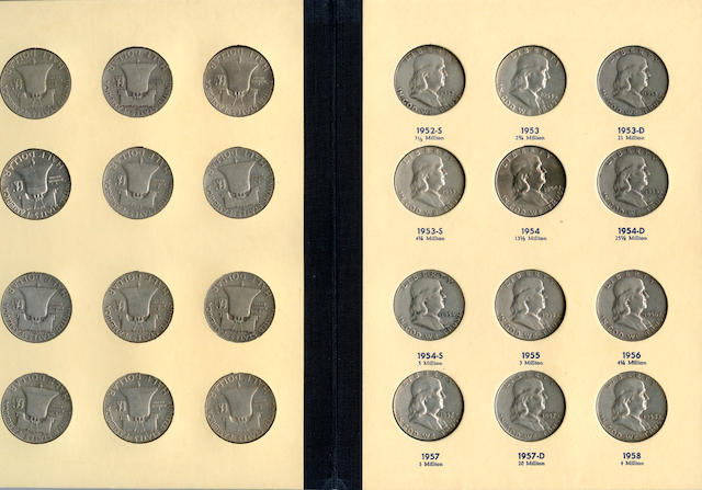 "Franklin Half Dollars 1948-1963 ""Library of Coins"" Vol. 21"