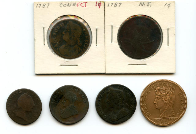 US Colonial Coins (6)