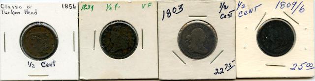 Half Cents (4)