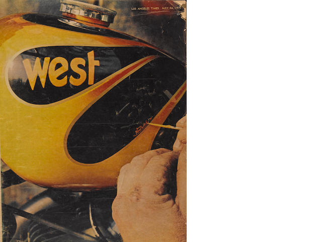 An issue of L.A. West magazine featuring Von Dutch,