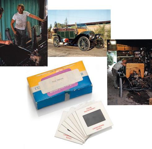 "44 negatives of Von Dutch building the ""Rievers Car"""