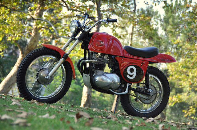 Street-licensed scrambler with Von Dutch pinstriped bodywork,1965 Rickman Triumph Metisse 500 Frame no. B-1101065 Engine no. T100C-H66734