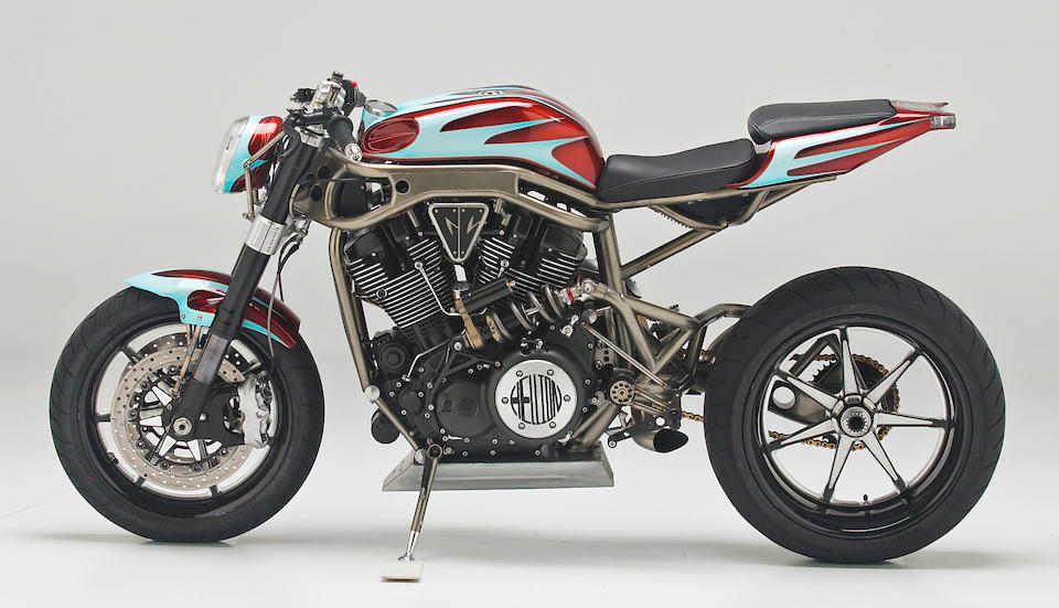 """An award-winning V-twin special like no other,2005 Yamaha GC Customs """"Hellion"""" Streetfighter Frame no. JYAVP14Y25A001414 Engine no. P611E013813"""