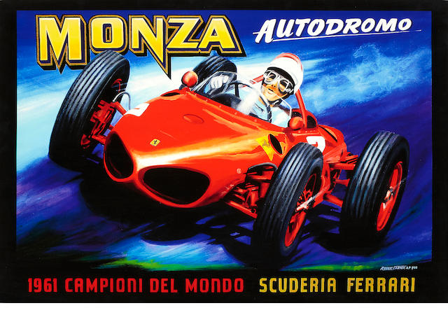 Robert Carter, 'Ferrari at Monza',