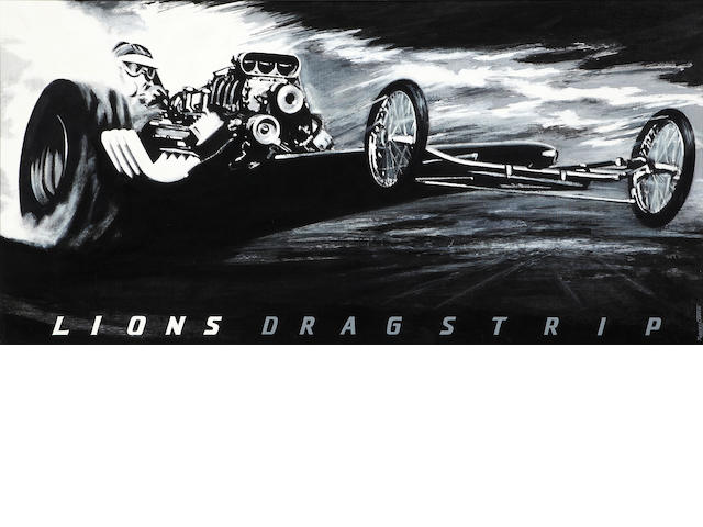 Robert Carter, 'Lions Dragstrip',