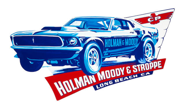 Robert Carter, 'Holman and Moody Mustang',