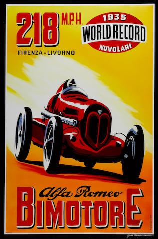 Robert Carter, 'Alfa Romeo Bimotore',
