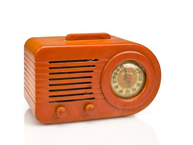 A Fada 1000 Bullet radio 1945
