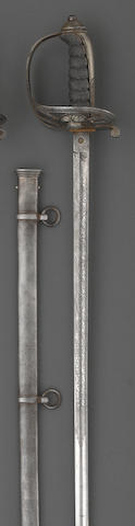 A Victorian Honorable Artillery Company presentation sword