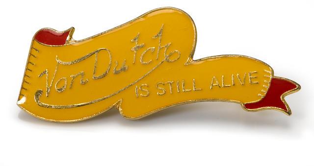 A pair of Von Dutch lapel pins,