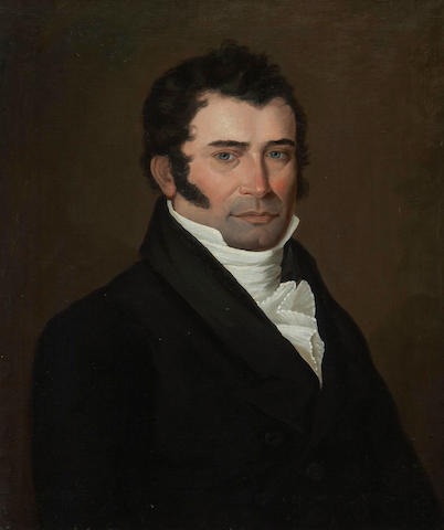 Louis Dulongpré (Canadian, 1754-1843) Portrait of Edouard Martial Leprohan
