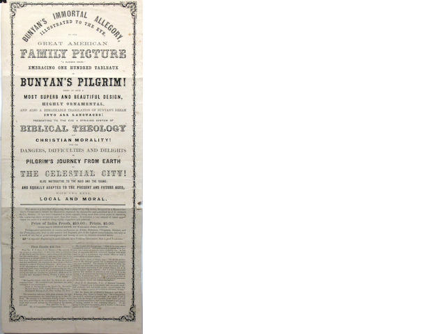 [PACIFIC VOYAGES--THEATRICAL BROADSIDES.] 6 items