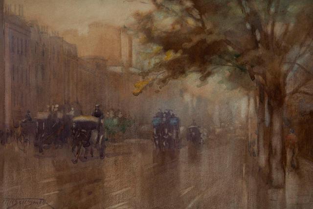 Frederic Marlett Bell-Smith, P.R.C.A., O.S.A. (Canadian, 1846-1923) Piccadilly