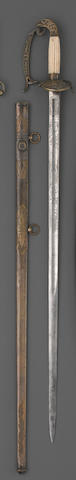 An American eagle pommel infantry officer's sword by Wm. H. Horstmann & Sons