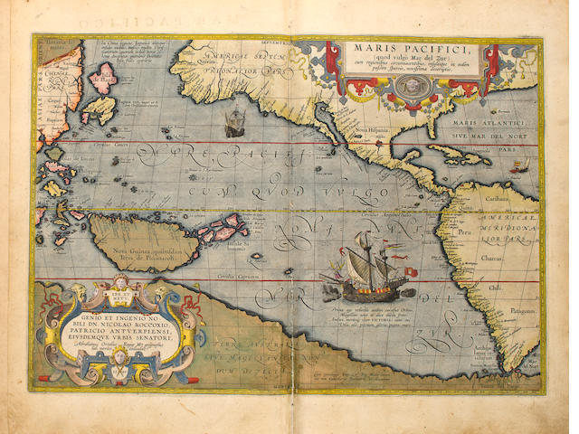 ORTELIUS - Spanish Atlas, 1603