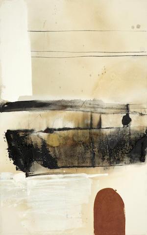 Masatoyo Kishi (American, born 1924) Opus No. 64-83, 1964 70 x 44in