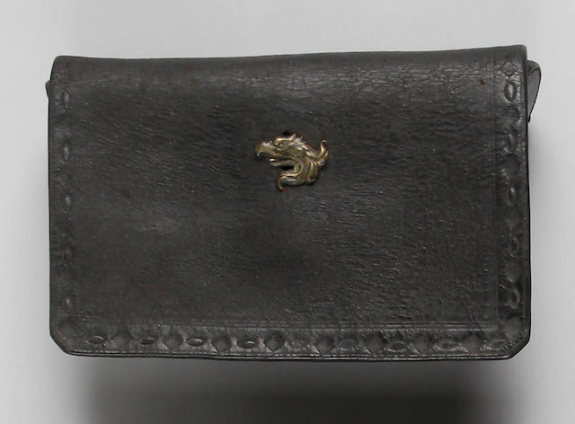 An early American cartridge pouch