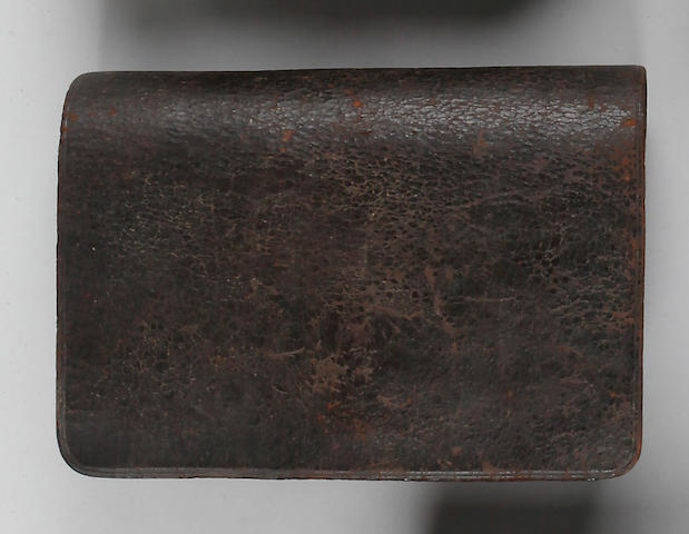 An American Federal period infantry cartridge pouch