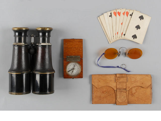 A group of Civil War era soldier's personal items