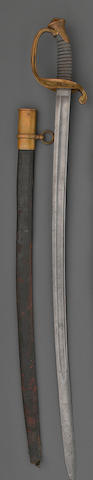 A U.S. Model 1850 Staff & Field officer's sword