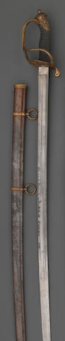An unusual Civil War era non-regulation foot officer's sword