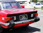 1976 Triumph TR-6  Chassis no. CF541S0U