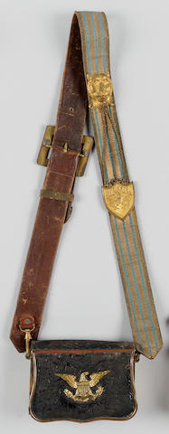 An American officer's dress baldric