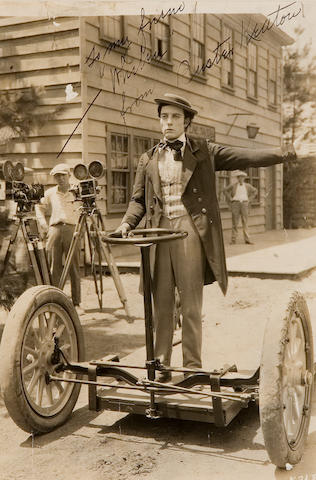 Buster Keaton Signed photo
