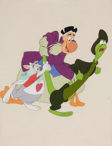 A Walt Disney celluloid from Alice in Wonderland