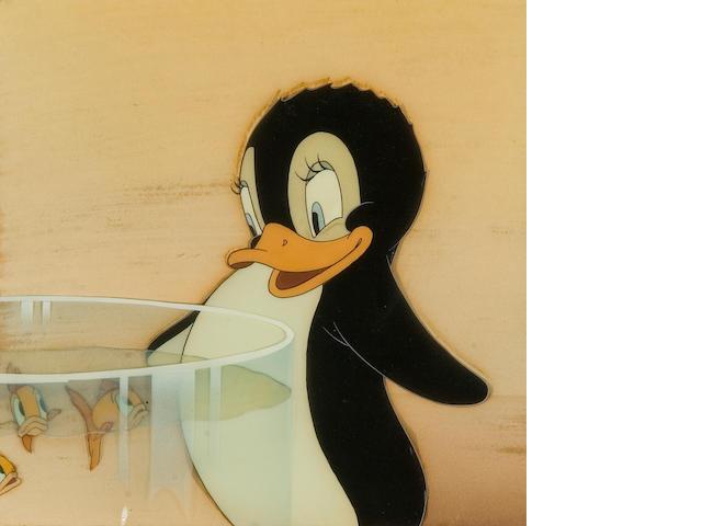 A Walt Disney celluloid from Donald Penguin