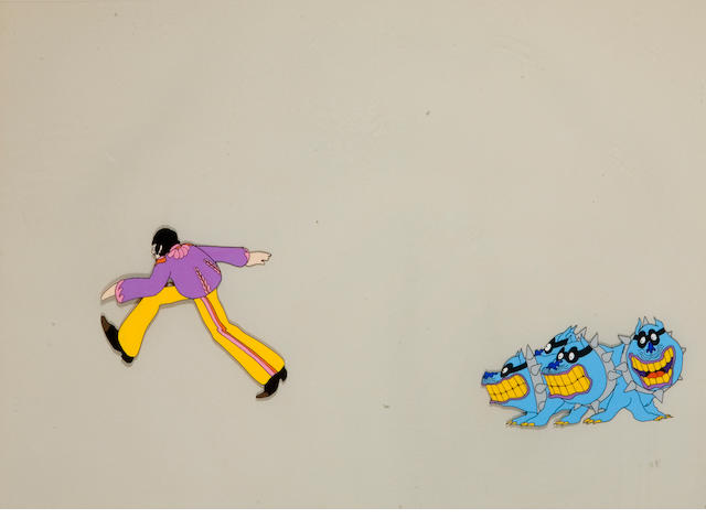 A celluloid from The Beatles Yellow Submarine
