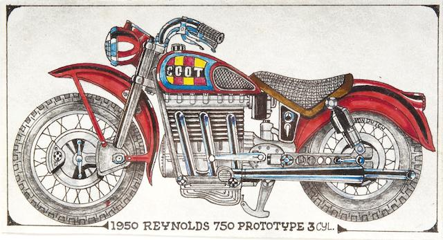 "Von Dutch original artwork - ""1950s Reynolds prototype"","