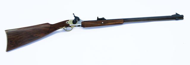 Von Dutch Custom .35 caliber percussion rifle,