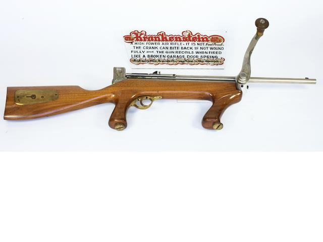 A Von Dutch Custom Krankenstein .22 Caliber Repeating Air Rifle,