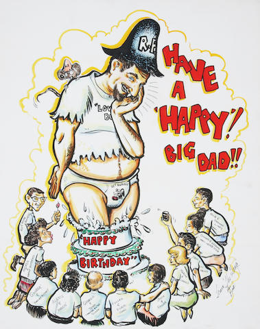 "Ed ""Big Daddy"" Roth Birthday art,"