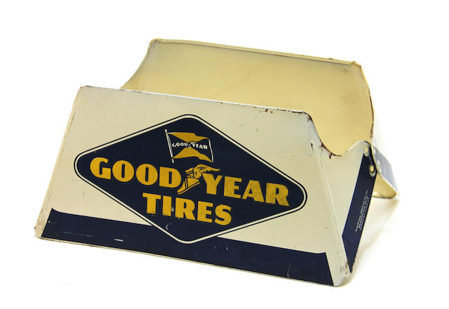 A 1950's Goodyear tire display,