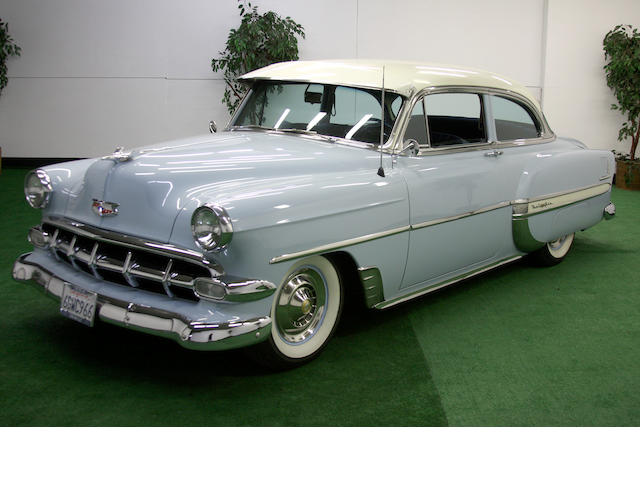 000,1954 Chevrolet Bel Air Coupe  Chassis no. C54K079615