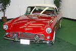 1955 Ford Thunderbird  Chassis no. P5FH200752