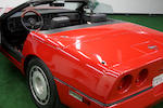 1987 Chevrolet Corvette Convertible  Chassis no. 1G1YY3185H5111359