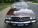 Fewer than 26,000 original miles, one family ownership from new,1980 Mercedes-Benz 450 SLC