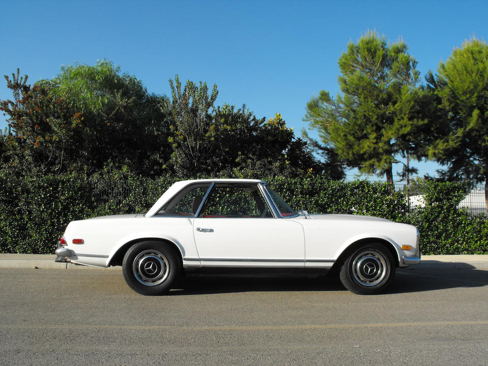 1969 Mercedes-Benz 280SL Coupe  Chassis no. 11304412007493