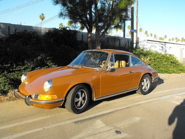 1971 Porsche 911E,1971 Porsche 911E  Chassis no. 9111200460